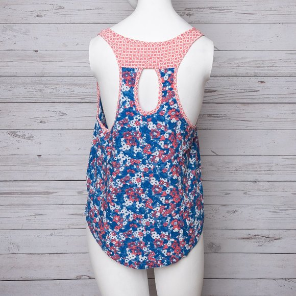 🍍Sale Hollister tank top blue and pink